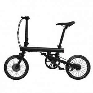 Электровелосипед Складной Xiaomi MiJia QiCycle Folding Electric Bike Black