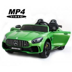Электромобиль Harley Bella Mercedes-Benz GT R 4x4 MP4 - HL289-MATTE-GREEN-4WD-MP4
